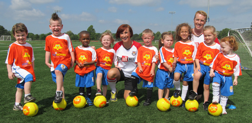 Tiny Tykes Soccer Program