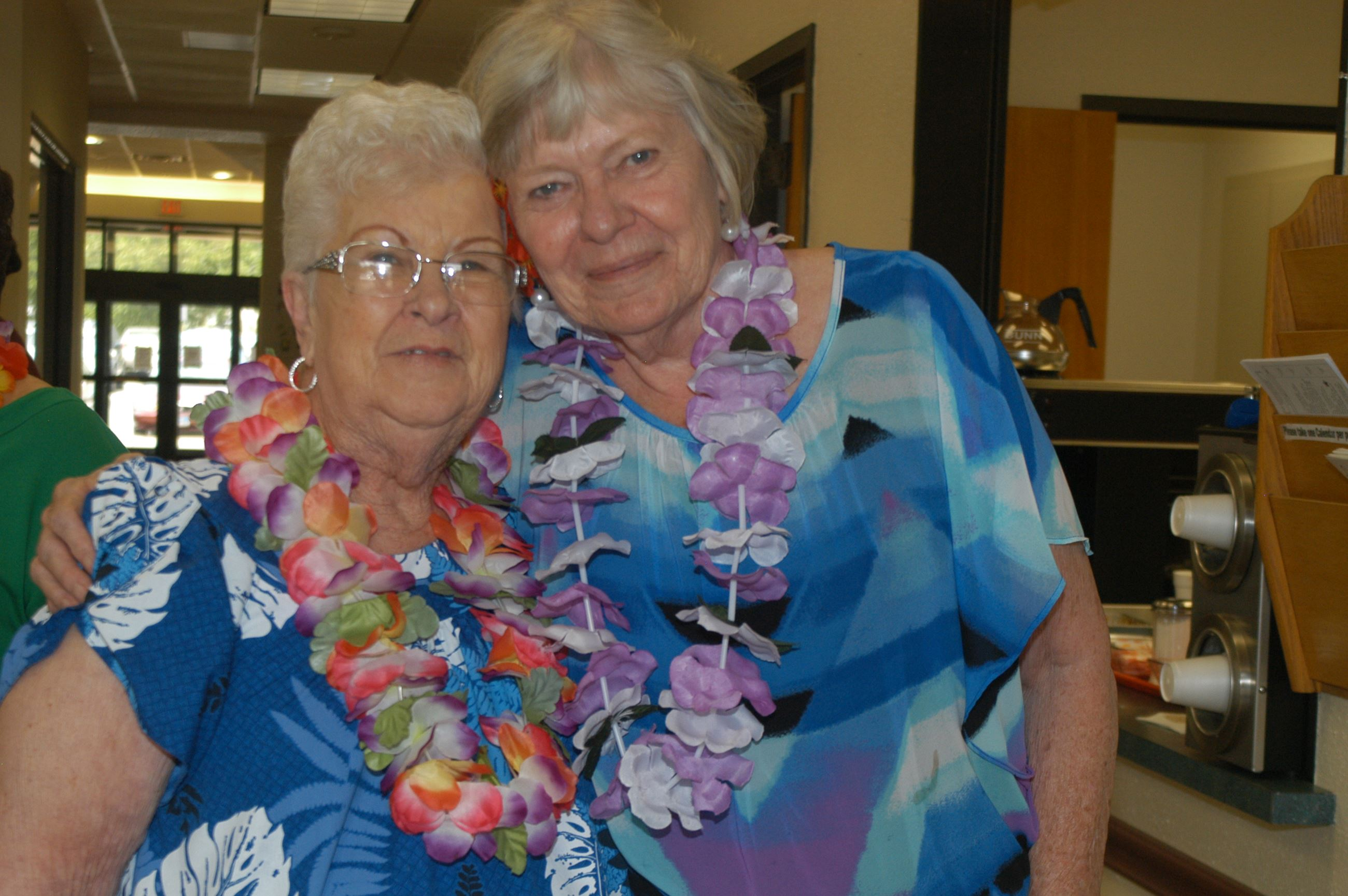 Senior Center Luau
