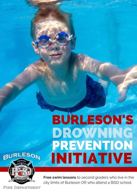 drowning prevention initative flyer