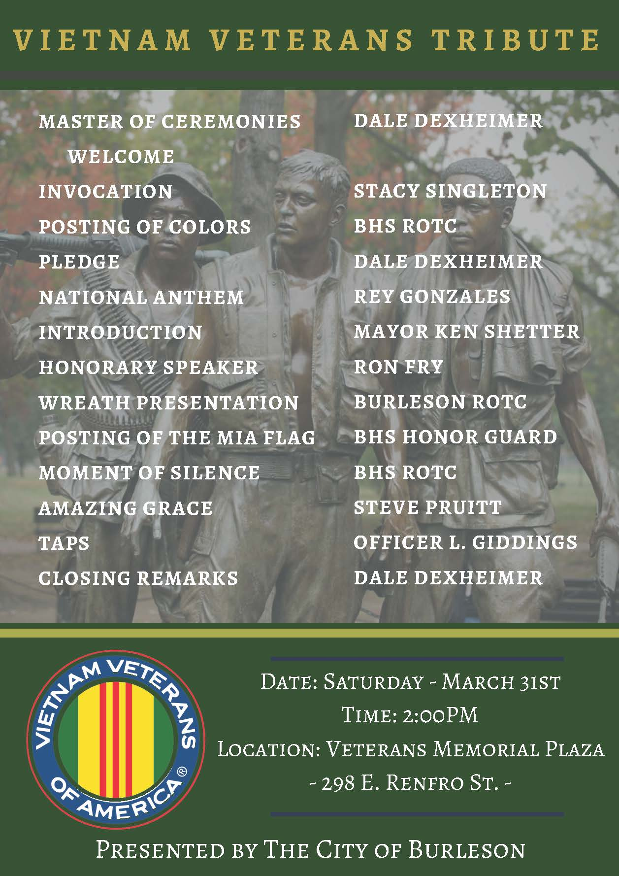 Veterans Event Schedule_March 31_ 2018