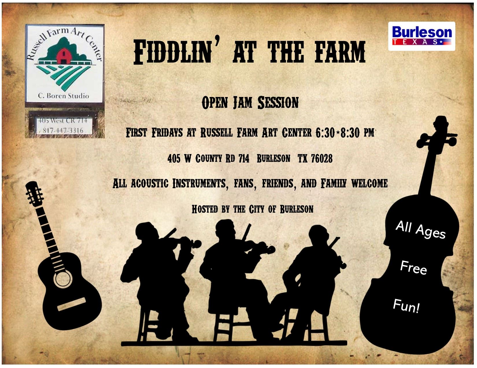 Fiddlin At The Farm