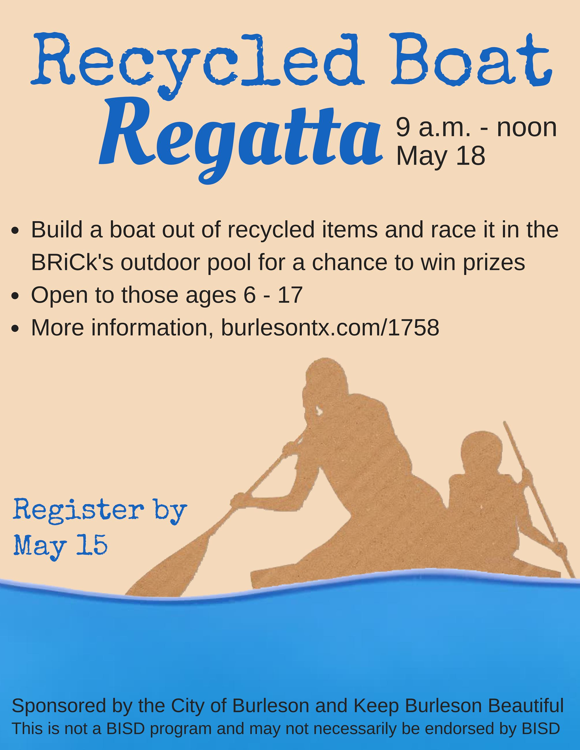 boat regatta flyer 2019