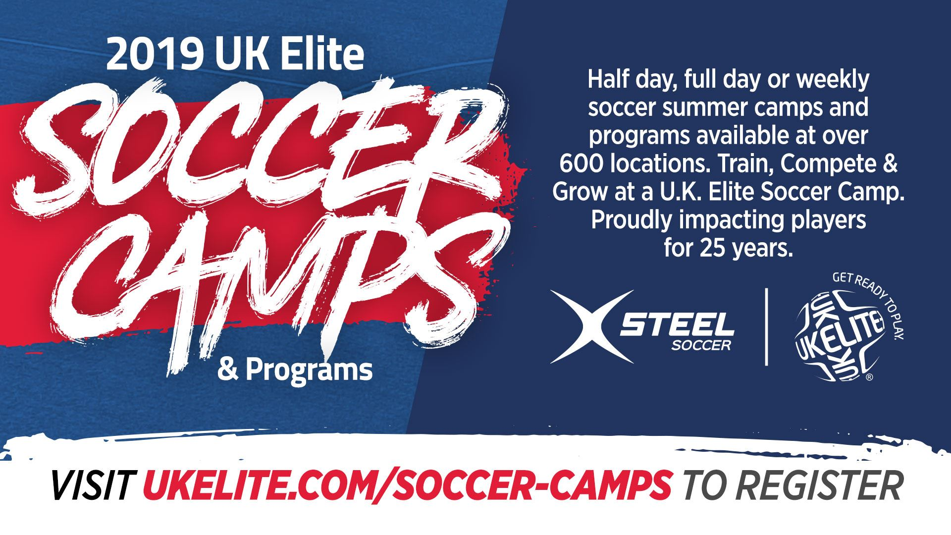 2a338c19e UK Elite Soccer is delighted to be partnering with the City of Burleson  Parks & Recreation this Summer. The UK Elite curriculum provides  age-specific ...
