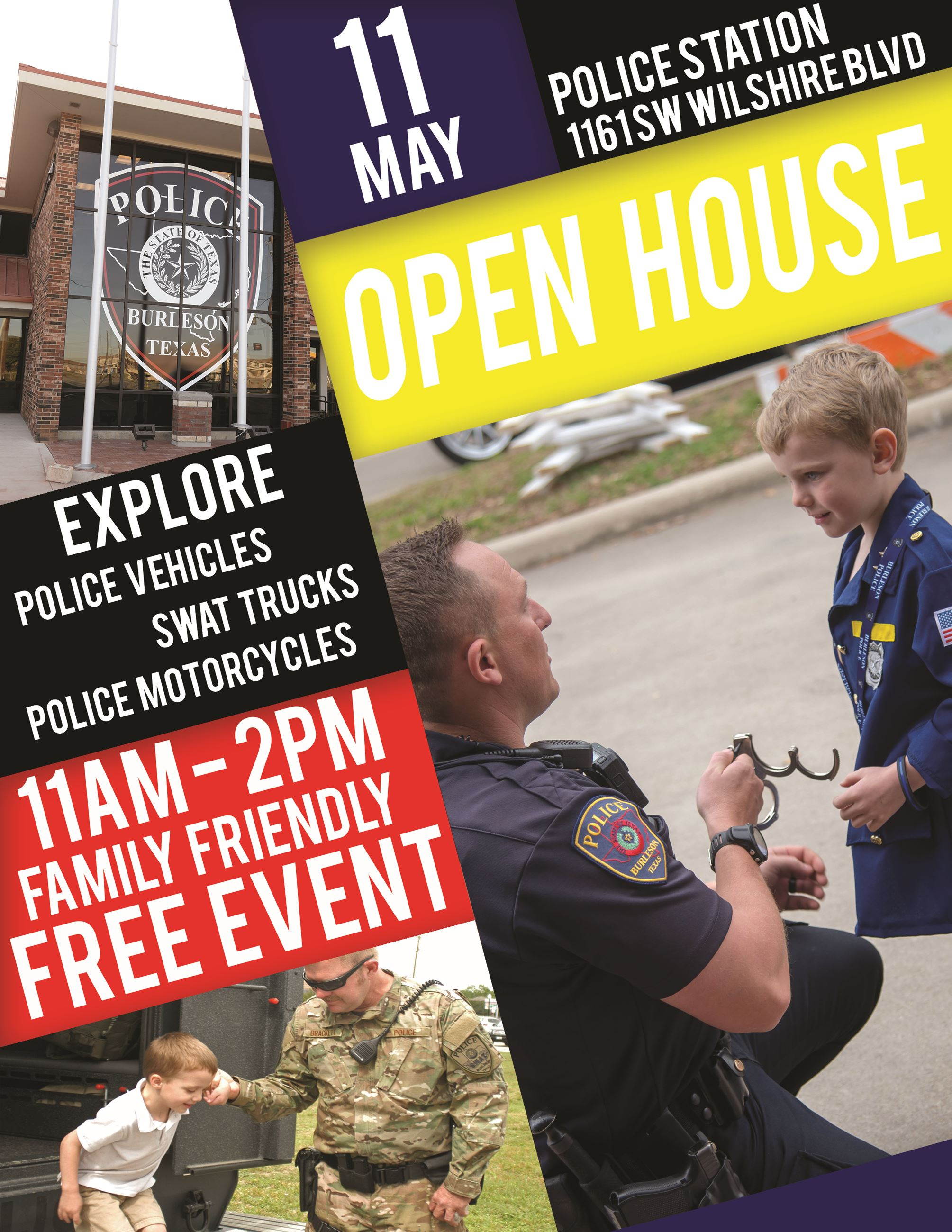 2019 Open House Flyer - Police