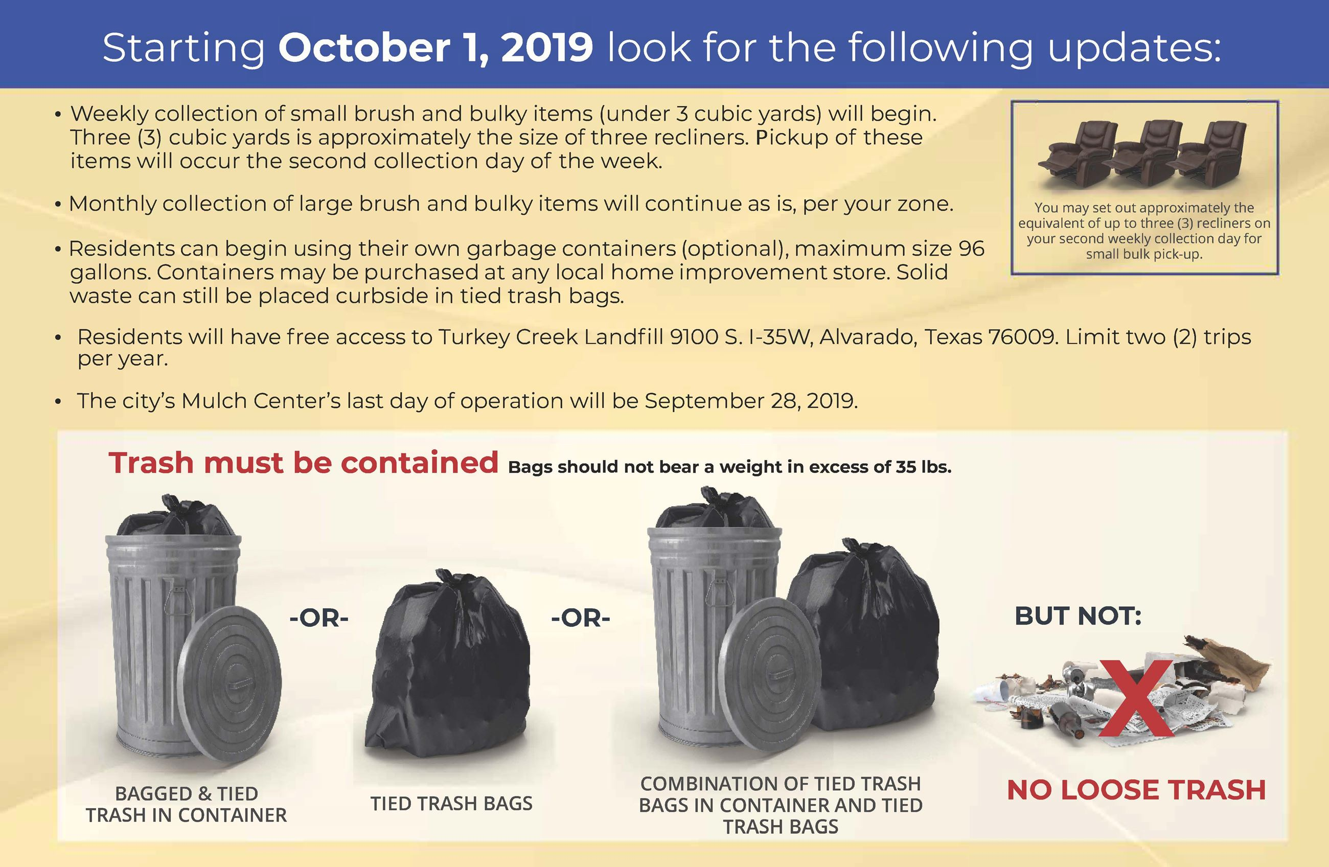 Public Works October 2019 postcard