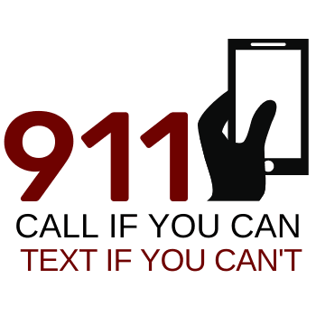 911 CALL IF YOU CAN text if you cant