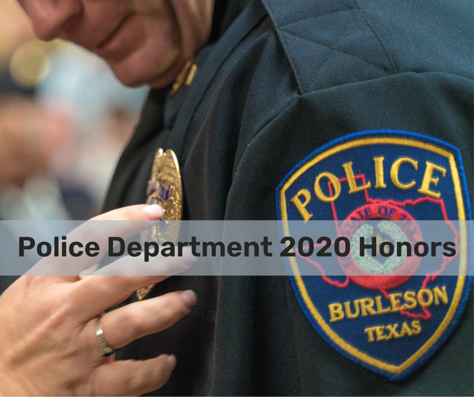 Police Department 2020 Honors