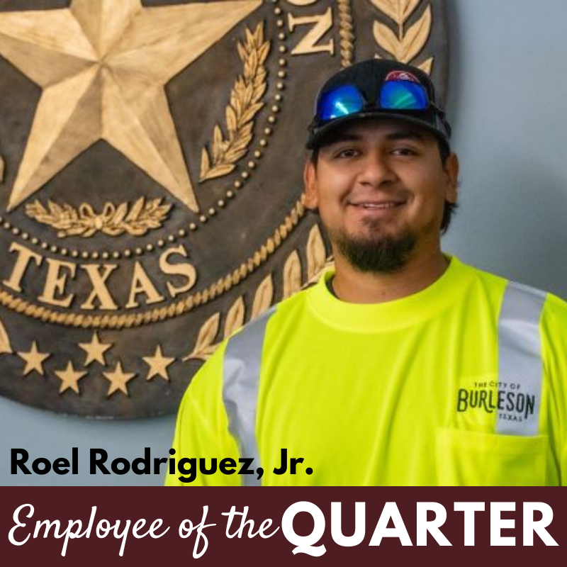 Employee of the Quarter Roel Rodriguez