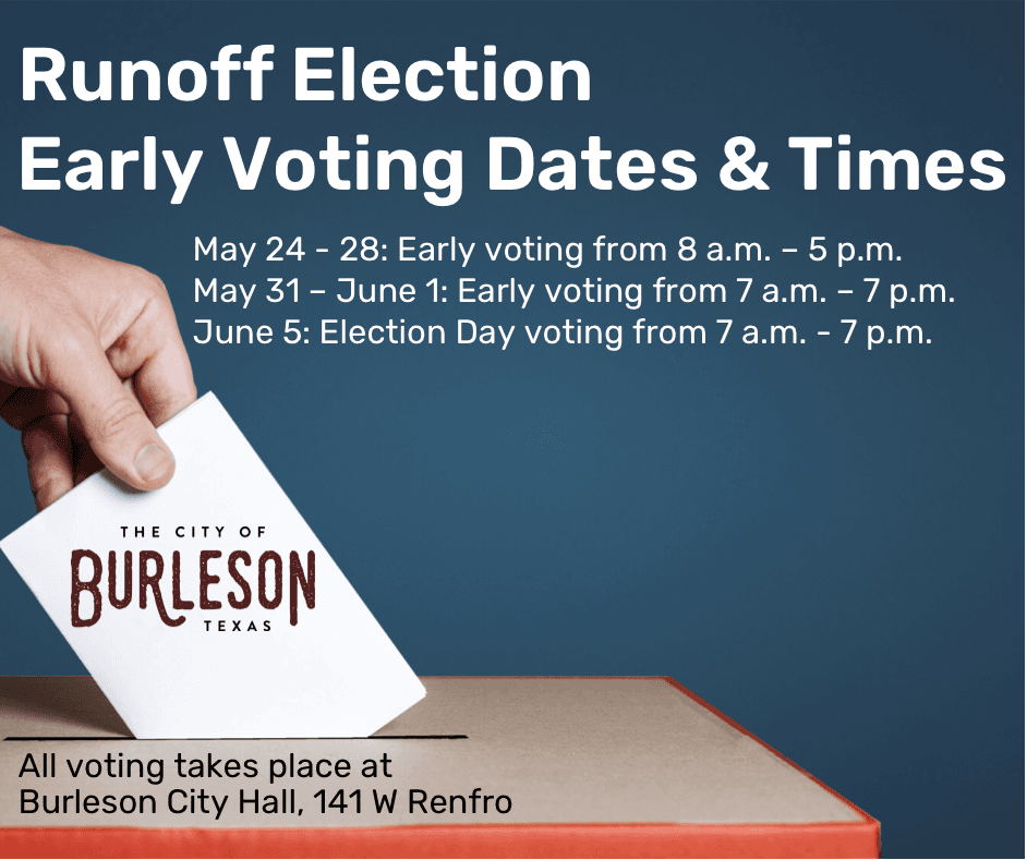 Runoff election voting dates and time