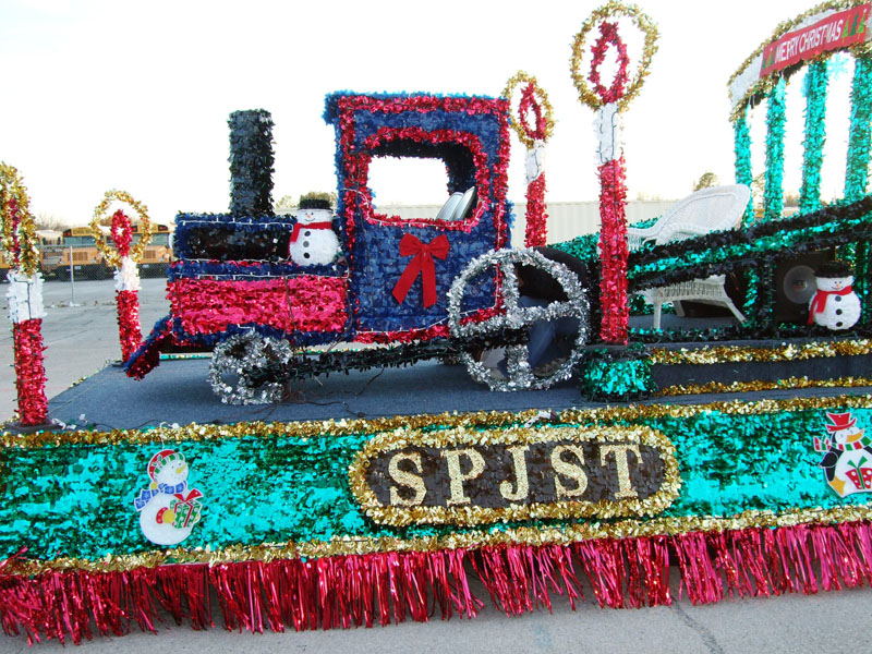 photo of SPJST parade float