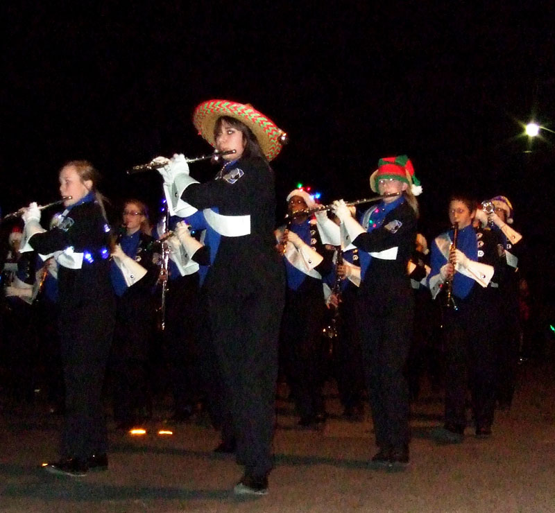photo of marching band