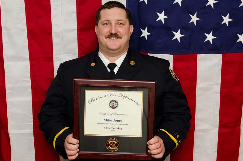 photo of Lt. Mike Jones