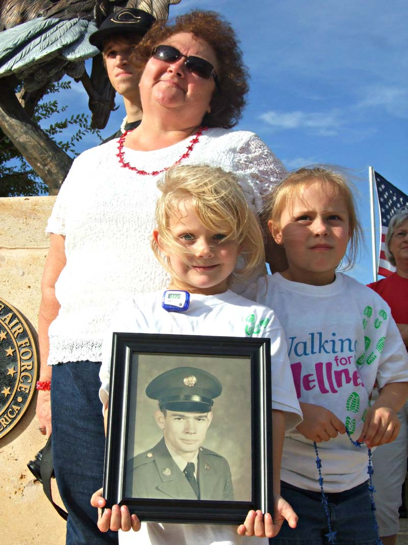 Picture of veteranMilitary Vet Tribute 2012