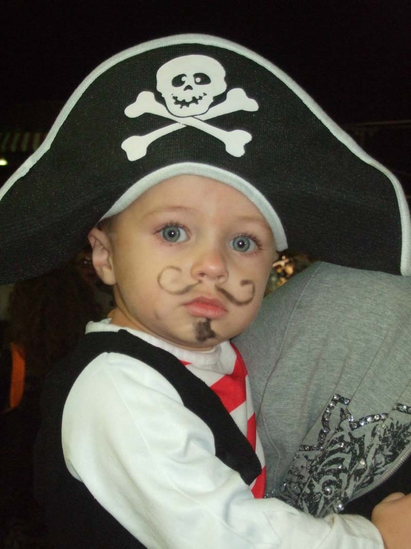 photo of little pirate