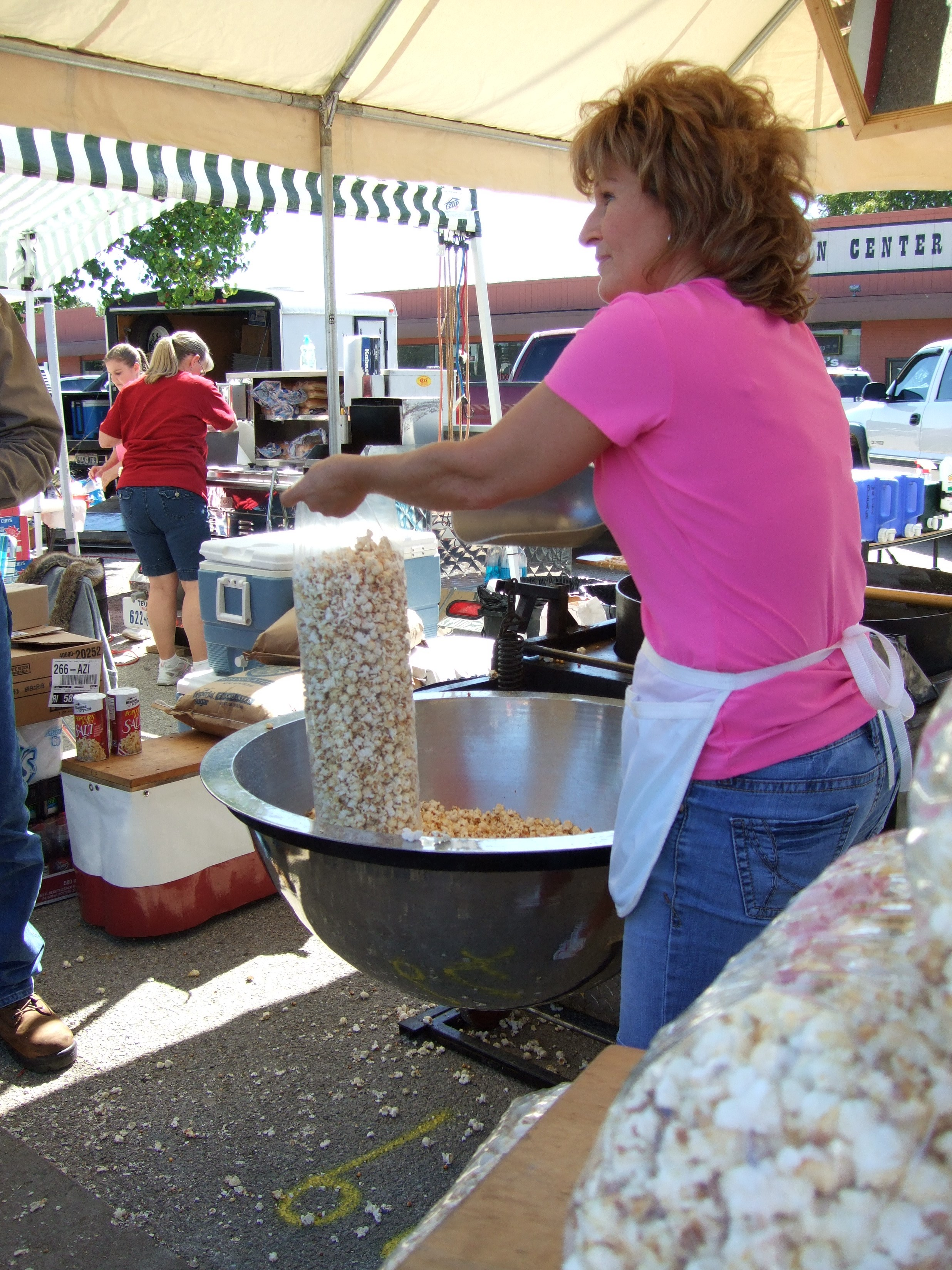 photo of kettle corn